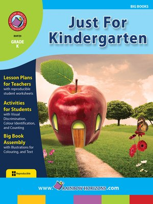 cover image of Just for Kindergarten