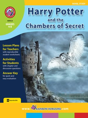 cover image of Harry Potter and the Chamber of Secrets (Novel Study)