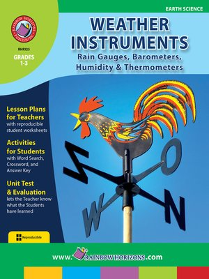 cover image of Weather Instruments: Rain Gauges, Barometers, Humidity & Thermometers