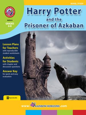 cover image of Harry Potter and the Prisoner of Azkaban (Novel Study)