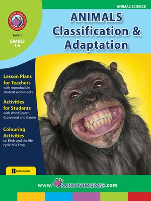cover image of Animals: Classification & Adaptation