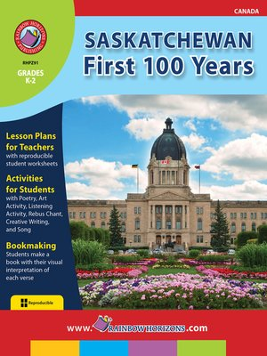 cover image of Saskatchewan: First 100 Years