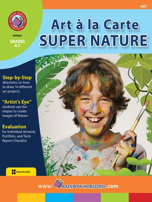 cover image of Art a La Carte: Super Nature