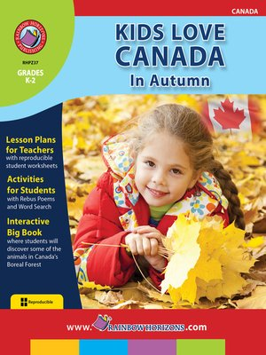 cover image of Kids Love Canada: In Autumn