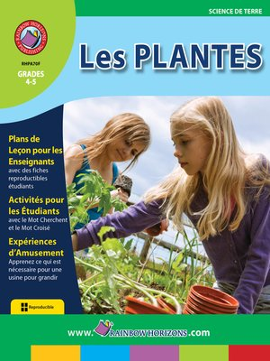 cover image of Les Plantes