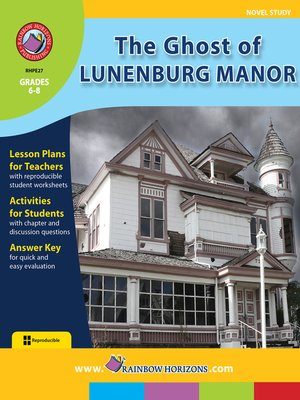 cover image of The Ghost of Lunenburg Manor
