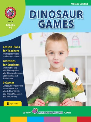 cover image of Dinosaur Games
