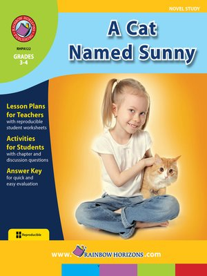 cover image of A Cat Named Sunny