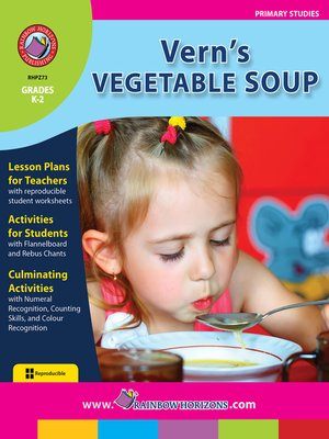 cover image of Vern's Vegetable Soup