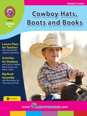 cover image of Cowboy Hats, Boots and Books