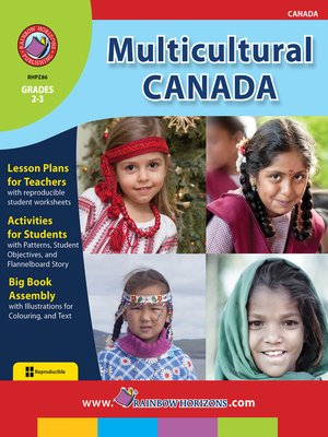 cover image of Multicultural Canada