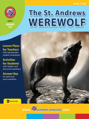 cover image of The St. Andrews Werewolf