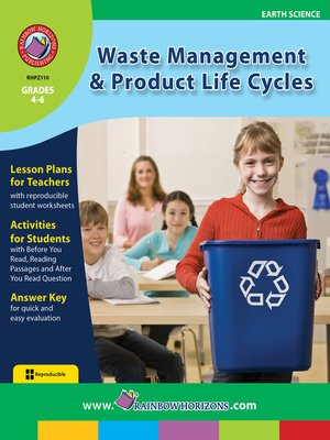 cover image of Waste Management & Product Life Cycles