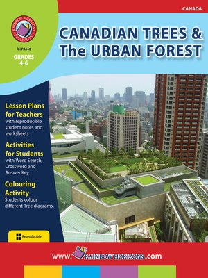cover image of Canadian Trees & the Urban Forest