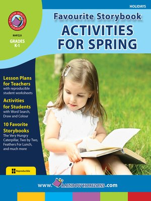 cover image of Favourite Storybook Activities for Spring