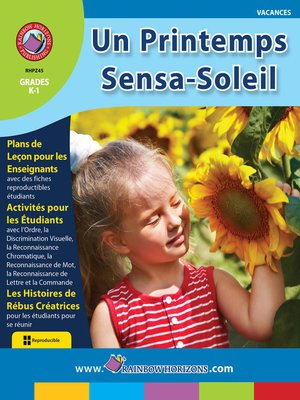 cover image of Un Printemps Sensa-Soleil
