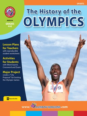 cover image of The History of the Olympics