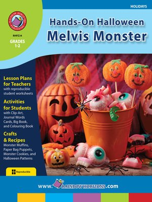 cover image of Hands-On Halloween: Melvis Monster