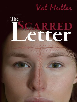 cover image of The Scarred Letter