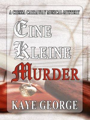 cover image of Eine Kleine Murder