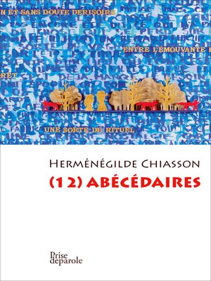 cover image of (12) abécédaires