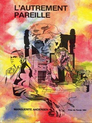 cover image of Autrement pareille