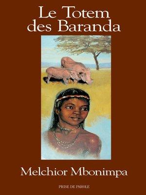cover image of Totem des Baranda