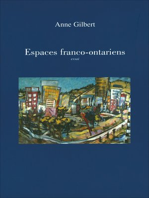 cover image of Espaces franco-ontariens