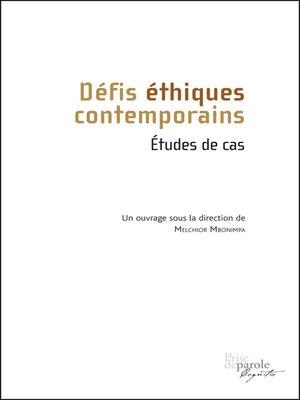 cover image of Défis éthiques contemporains