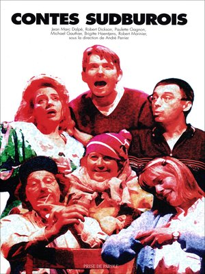 cover image of Contes sudburois