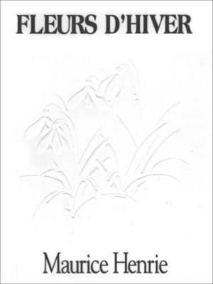 cover image of Fleurs d'hiver