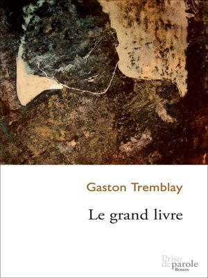 cover image of Grand livre