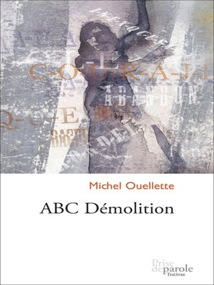 cover image of ABC Démolition