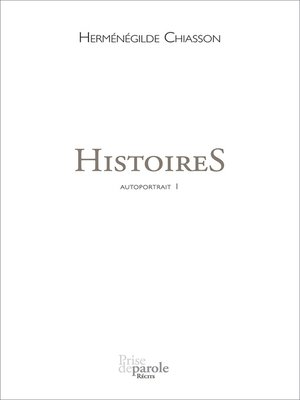 cover image of Histoires