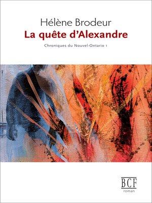 cover image of Quête d'Alexandre