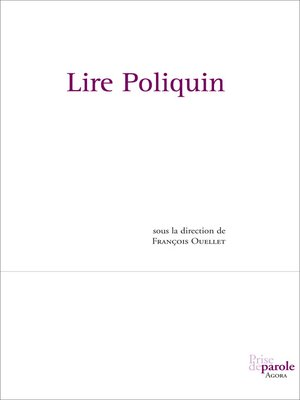 cover image of Lire Poliquin