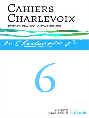 cover image of Cahiers Charlevoix, no.6