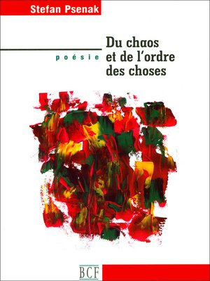 cover image of Du chaos et de l'ordre des choses