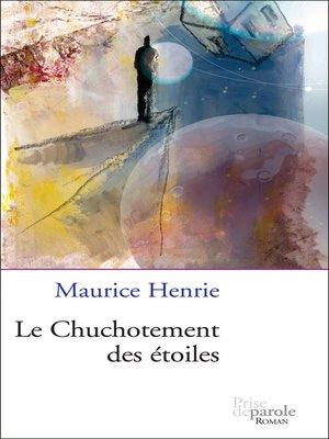 cover image of Chuchotement des étoiles (Le)