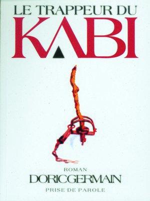 cover image of Trappeur du Kabi