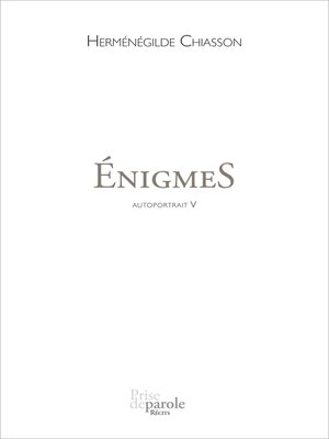cover image of ÉnigmeS