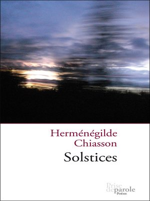 cover image of Solstices