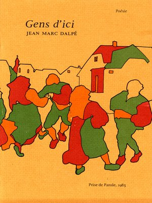 cover image of Gens d'ici