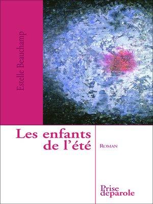 cover image of Enfants de l'été