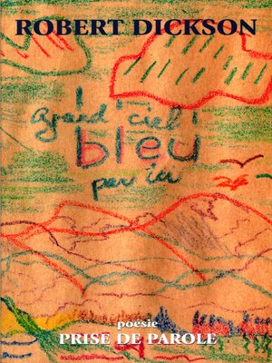 cover image of Grand ciel bleu par ici