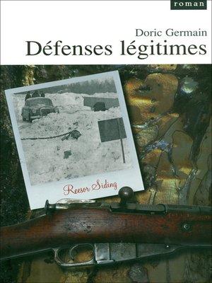 cover image of Défenses légitimes