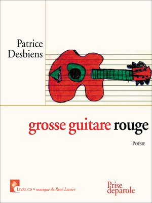 cover image of grosse guitare rouge