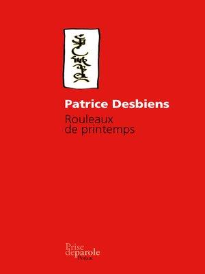 cover image of Rouleaux de printemps