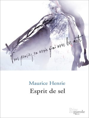 cover image of Esprit de sel