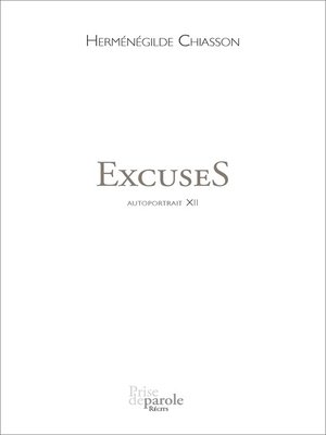 cover image of ExcuseS